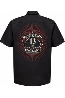Rockers England Ace Starburst Workshirt