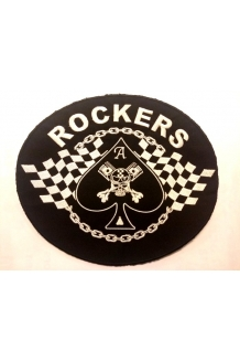 Patch, large embroidered back patch. UK P&P Incl..