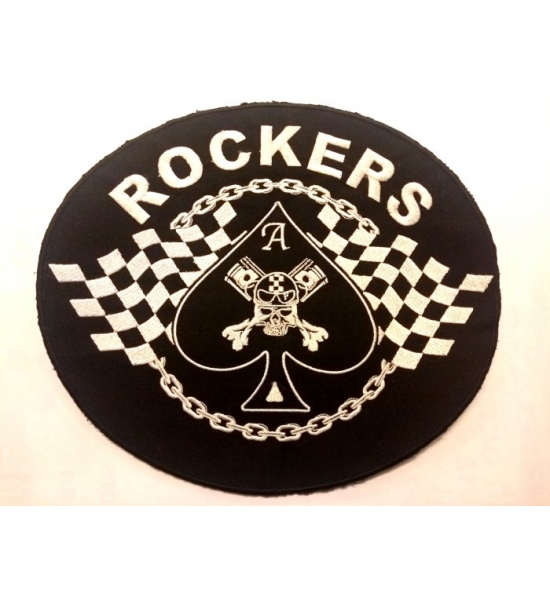 Patch, large embroidered back patch. UK P&P Included