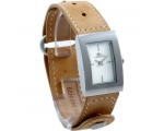 Lacoste LAW6200L32 Ladies Ivory Dial Tan Leather..