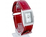 Lacoste LAW6200L41 Ladies White Dial Maroon Stra..