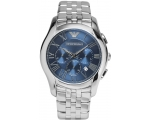 Armani AR1787 Classic Navy Blue Dial Stainless S..