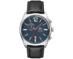 Lacoste Austin Chronograph Leather - Black Men's..
