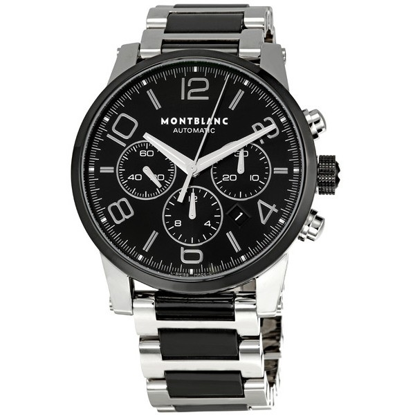 bbb650a1ced Montblanc Timewalker Steel Chronograph Mens Watch 103094