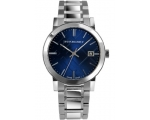 Pre Owned Burberry Blue Gents The City Watch - G..