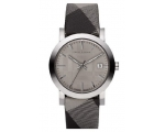 BURBERRY BU1758 Men's Heritage Gray Dial Band Wa..