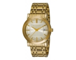 Burberry BU1393 Gold Tone Bracelet Gents Watch