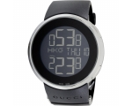 Gucci 114 I-Gucci YA114202 Digital Display Black..