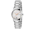 Gucci YA126523 Rose Gold & Silver Dial Ladies Wa..