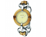 Gucci YA132404 Bamboo Stainless Steel Ivory Dial..