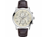 Guess Exec W0076G2 Chronograph Leather Brown Cha..