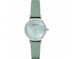 Armani AR1959 Ladies Gianni T-Bar Green Leather ..