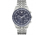 Armani AR6072 Men's Watch Blue Dial Stainless St..