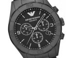 Emporio Armani AR1458 Latest Men's Black Ceramic..