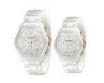 Emporio Armani His & Hers Ceramica Watch Set - A..