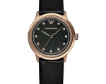 Armani Classic Black/Rose Gold Watch AR1802