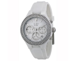 DKNY Ceramic Chronograph White Dial Women's Watc..