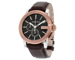 Gucci G Collection Men's YA101202 with Black Bro..