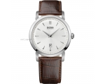 Hugo Boss 1512636 Mens Round Dial Brown Leather ..