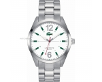 Lacoste 2010697 Mens White and Silver Montreal W..