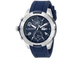 Lacoste Men's Tonga multifunction Blue Rubber St..