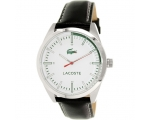 Lacoste Montreal Black Leather Strap Watch 2010732