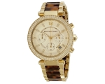Michael Kors Collection Women's MK5688 Gold Tort..