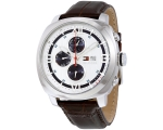 Tommy Hilfiger 1790968 Mens Silver and Brown Fit..
