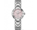 Tag Heuer Link Diamond Pink Guilloche Ladies Wat..