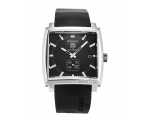 Tag Heuer Monaco Black Mens Watch WW2110.FT6005