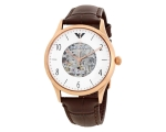 Emporio Armani AR1920 Men's Automatic Brown Leat..
