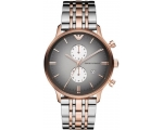 Emporio Armani AR1721 Rose Gold-Tone Stainless S..