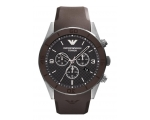 Emporio Armani AR9501 Men's Titanium Brown Chron..