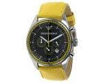 New Emporio Armani Mens Yellow Sport Watch AR0528