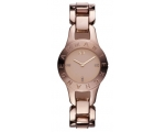 Armani Exchange Rose Gold-Tone Stainless Steel L..