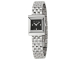 Gucci YA128403 G-Frame Black Dial Ladies Swiss W..