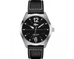 Lacoste Montreal Leather - Black Men's watch 201..