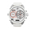 Diesel Analog-Digital White Dial Men's Watch DZ7..