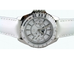 Guess Collection Gc Silver White Women Watch I29..