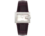 Gucci YA100509 Ladies Brown Strap Watch