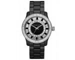 Michael Kors Baguette Crystal Black Ceramic Mens..