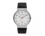 Skagen Klassic White Dial Black Dial Men's Watch..