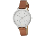 Skagen Hagen White Dial Ladies Quartz Watch SKW2..