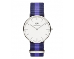 Daniel Wellington DW00100048 Women's Striped Nyl..