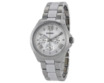 Fossil AM4544 Multi-Function White Dial Stainles..