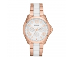 Fossil AM4546 Analogue Silver Dial Women's Watch