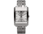 Burberry BU1567 Square Silver Dial Bracelet Men'..