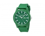 Lacoste Men's Green Silicone Strap Watch 2010763