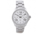 Fossil AM4481 Women's Multifunction Stainless St..