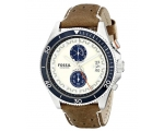 Fossil CH2951 Men's Chronograph Leather Watch
